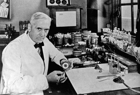 Ian Fleming, Entdecker des Penicillins. Bildquelle: Universal History Archive / Getty Images