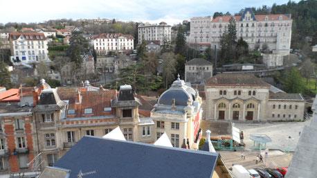 Vue panoramique de l'appartement