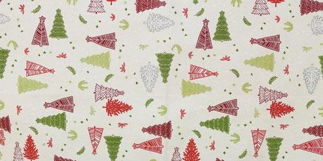 скатерть к Новому году, новый год, рождество, новогодние ткани, ткани для праздника