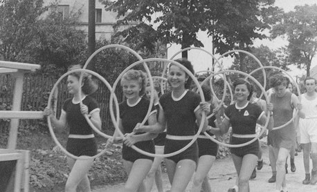 Bild: Teichler Wünschendorf Erzgebirge Schul -und Heimatfest 1952