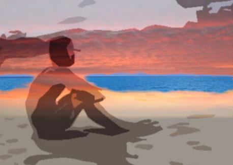 """Ein Bild zum Thema Langeweile zeigt einen Surfer am Strand, der auf die nächste Welle wartet. """"Catch a wife"""" - so sagen die Amerikaner dazu."""