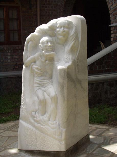 Meherabad ; Sculptor - Jurgis  Sapkus