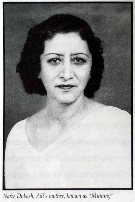 "Adi's mother . Image courtesy from her book ""Surrendering to Him""."
