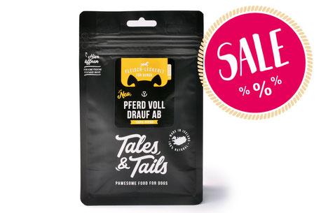 Hundestrand Leckerlies Hundesnack Snacks natürlich Pferd Monoprotein Tales und Tails