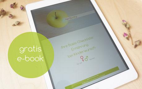 Buch Ernährung bei Kinderwunsch Tipps für Essen und Trinken für Mann und Frau