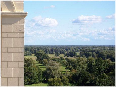 Blick vom rechten Kirchturm nach Südosten, 2007. (Photo A. Urspruch)