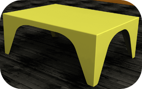 table-basse-flashy-jaune-metal