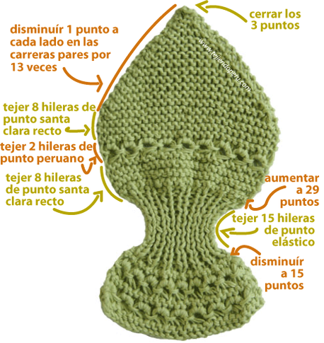 "Bufanda para cuello ""gatito"" (Knitted neck scarf)"