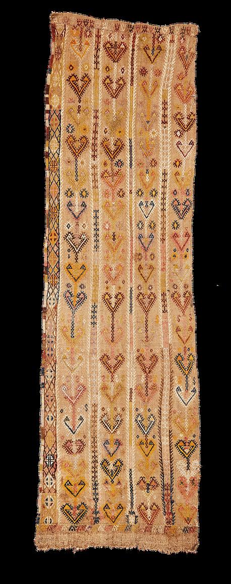 Teppich. Zürich. Antique Cicim from Anatolia. Handgewebter Teppich, Kelim aus Turkey.