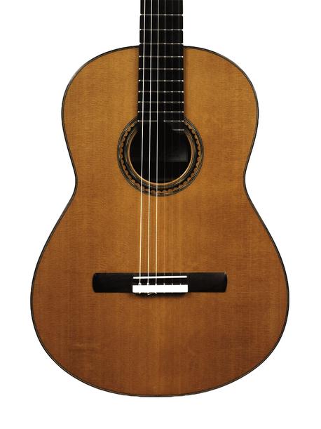 Guitare classique Pascal Quinson, cèdre