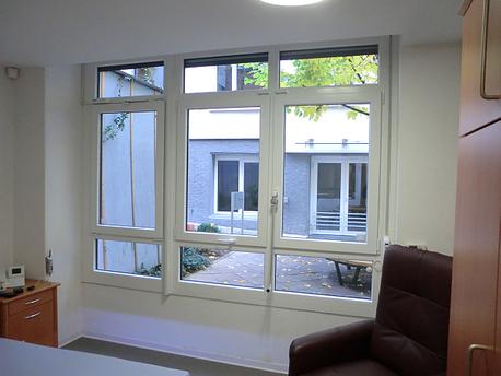 Fenster Brüstungshöhe 60cm  mit guter Durchsicht nach Außen