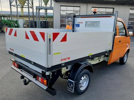 Elektro Nutzfahrzeug Kipper