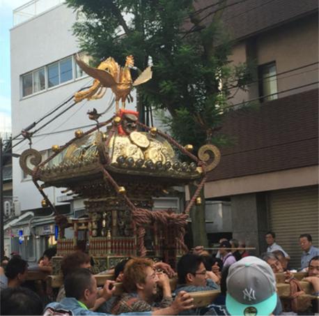 荏原神社例大祭:投稿ⓒゴリさん,南の天王祭