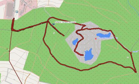"""GPXTrack """"8 km Kleine Nauberg Runde"""""""