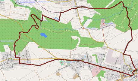 """GPXTrack """"9 Km rund um Höhn"""""""