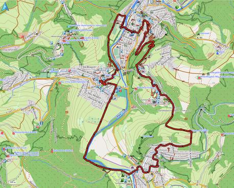"GPXTrack ""10 km Großer Krippenweg Waldbreitbach"""