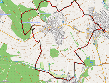 """GPXTrack """"14 km Südschleife Blasiussteig"""""""