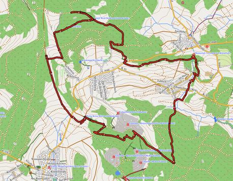 "GPXTrack ""18 km Leonhard Hörpel Weg"""