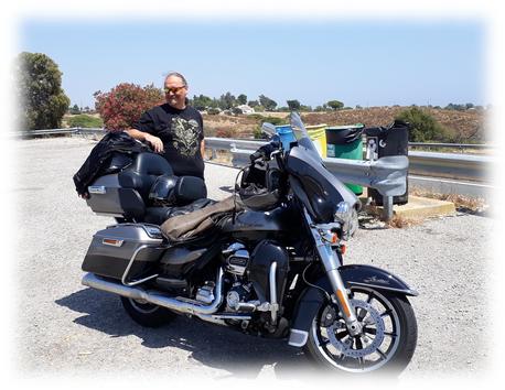 mit unserer E-Glide in Portugal