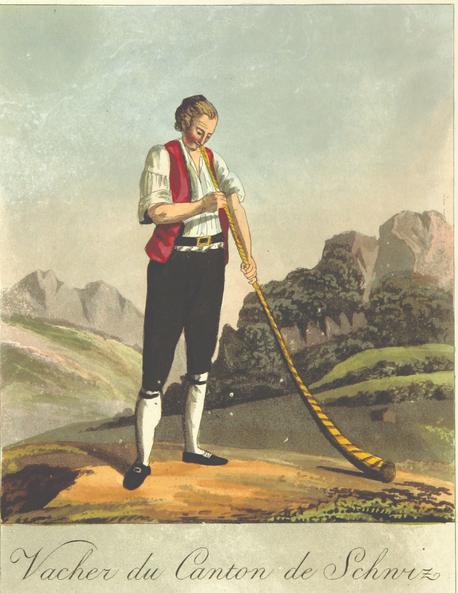 Symbolbild aus der Schweiz - Volksglaube Aberglaube