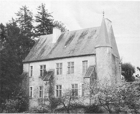 Commanderie de Lavausseau bâtiment conventuel