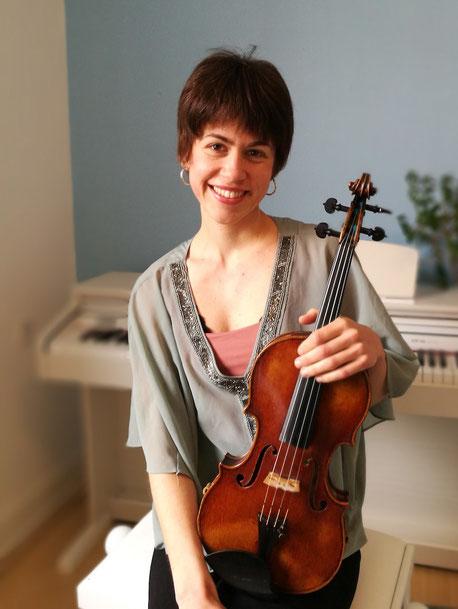 Geigenlehrerin Köln Holweide und Dellbrück