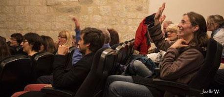 représentation tout public de PlayBack Baroud sur le thème du travail