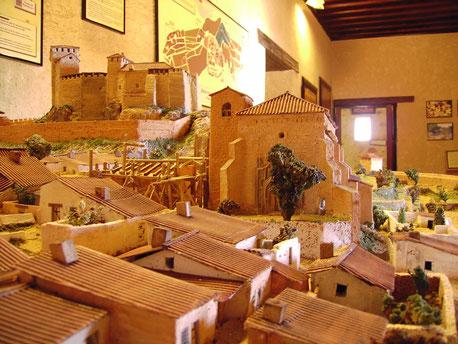 Maqueta de la Villa Medieval de Yeste