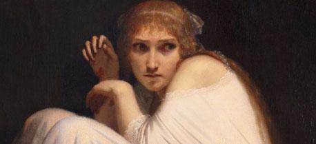Emile Signol (1804-1892), Folie de la fiancée de Lammermoor, 1850 © Musée des Beaux- Arts, Tours
