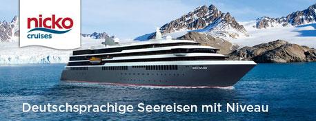 Singer Reisen+Versicherungen udn Nicko cruises zum Jubiläums-Vorteil peisgünstig buchen...