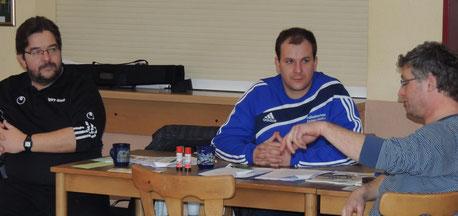 Henry Glaue, Stephan Matecki, Uwe Peist  (v.l.n.re.)