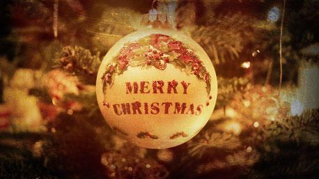 Foto © Marc Groneberg / Merry Christmas / Frohe Weihnachten