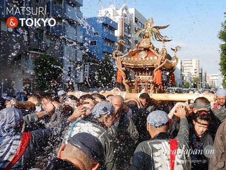 〈深川神明宮・森下二丁目睦会例大祭〉@2017.08.6