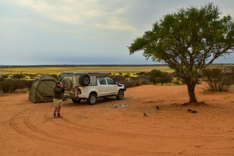 Reserve Campsite an der Mpayathutlwa-Pan