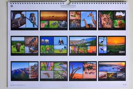 """Monatsübersicht Kalender """"Collage"""""""