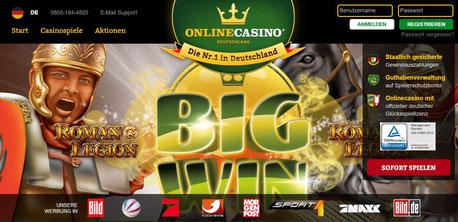 Lobby Online Casino Deutschland