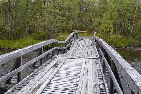 Helags Husky Alte Brücke Nyvallen