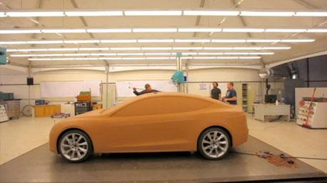 Entwurf Tesla Model 3