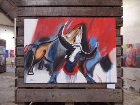 Stier von Hartmut Rexin