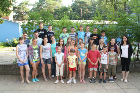 Die Kindergruppe 2014