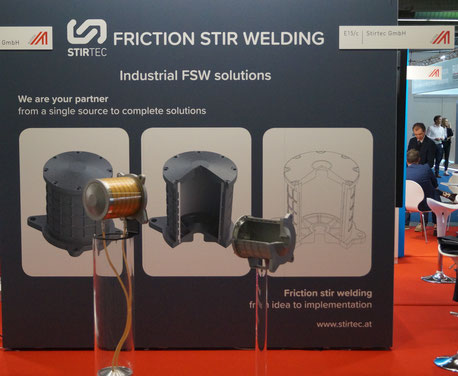 Stirtec auf der IAA 2019: Industrielle FSW-Lösungen