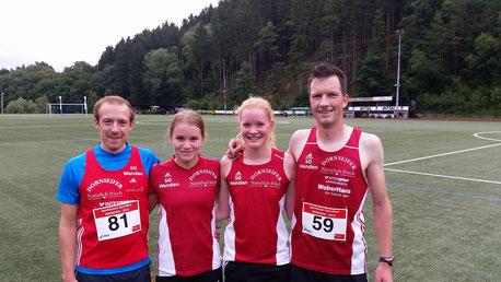 v.l.: Tobias Dreier, Marie Bayer, Rebecca Baum, Sven Daub