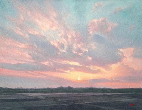 「美しい日々」 油彩・キャンバス F6 189,000円