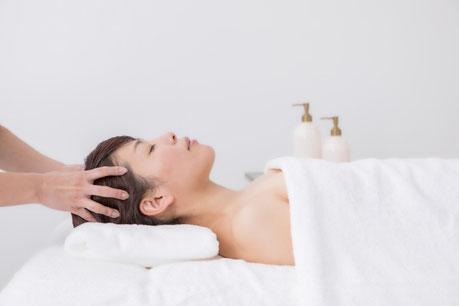 アロマヘッドスパ 小顔 リフトアップ 抜け毛対策 安眠 脳疲労解消