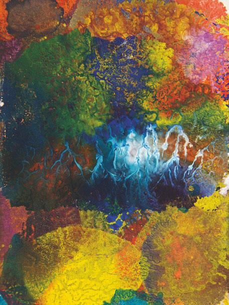 Kunstwerk COLORED THUNDERSTORM auf ARTS IV als Acrylglas- oder Schattenfugenrahmen-Druck bestellen
