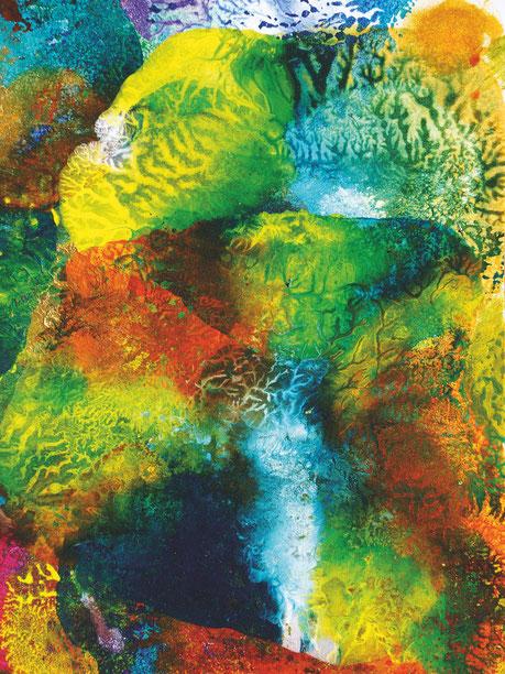 Kunstwerk FOUNTAIN IN ACTION auf ARTS IV als Acrylglas- oder Schattenfugenrahmen-Druck bestellen