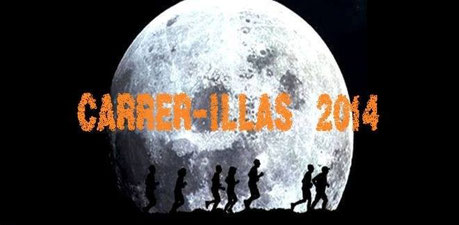 III CARRER-ILLAS NOCTURNA - Illas, 09-08-2014
