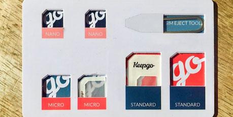 keepgo sim card holder