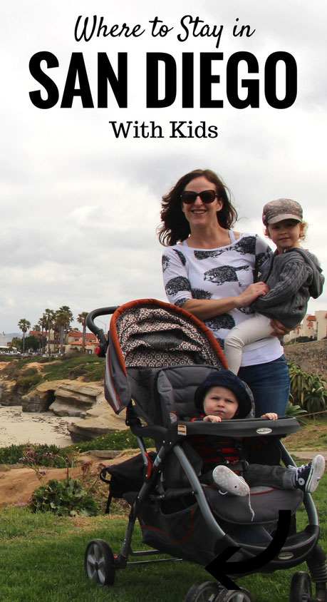 Where to stay in San Diego with kids? Mission Beach is a great spot! Find out why at www.BabyCanTravel.com/blog