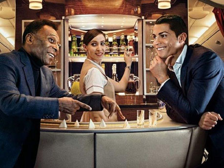 エミレーツ航空のスポーツマーケティング